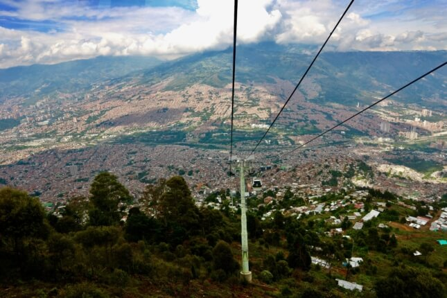 metrocable medellin traveling to medellin guide