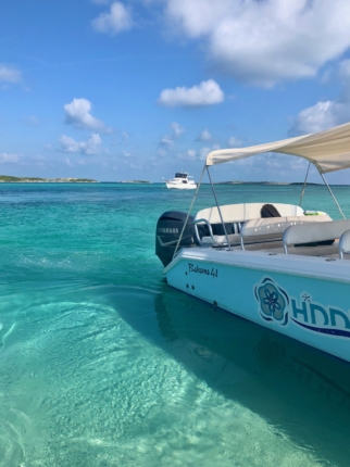 SWIM WITH PIGS NASSAU TO EXUMA BAHAMAS TOUR | From East to West